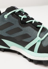 adidas Performance - TERREX SKYCHASER LT GORE TEX HIKING SHOES - Hiking shoes - ash grey/core black/clear mint - 5