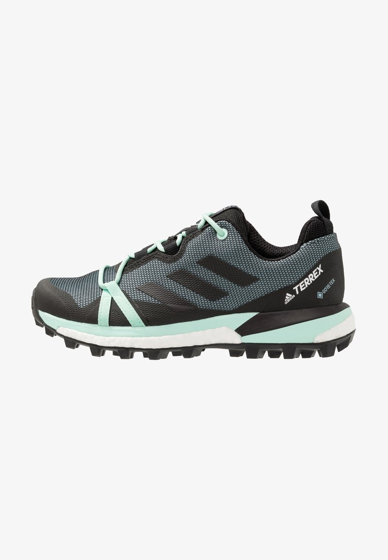adidas Performance - TERREX SKYCHASER LT GORE TEX HIKING SHOES - Hiking shoes - ash grey/core black/clear mint