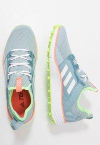 adidas Performance - TERREX SPEED LD - Obuwie do biegania Szlak - ash green/footwear white - 1