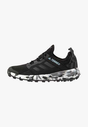 TERREX SPEED LD RUNNING SHOES - Trail running shoes - core black/ash grey
