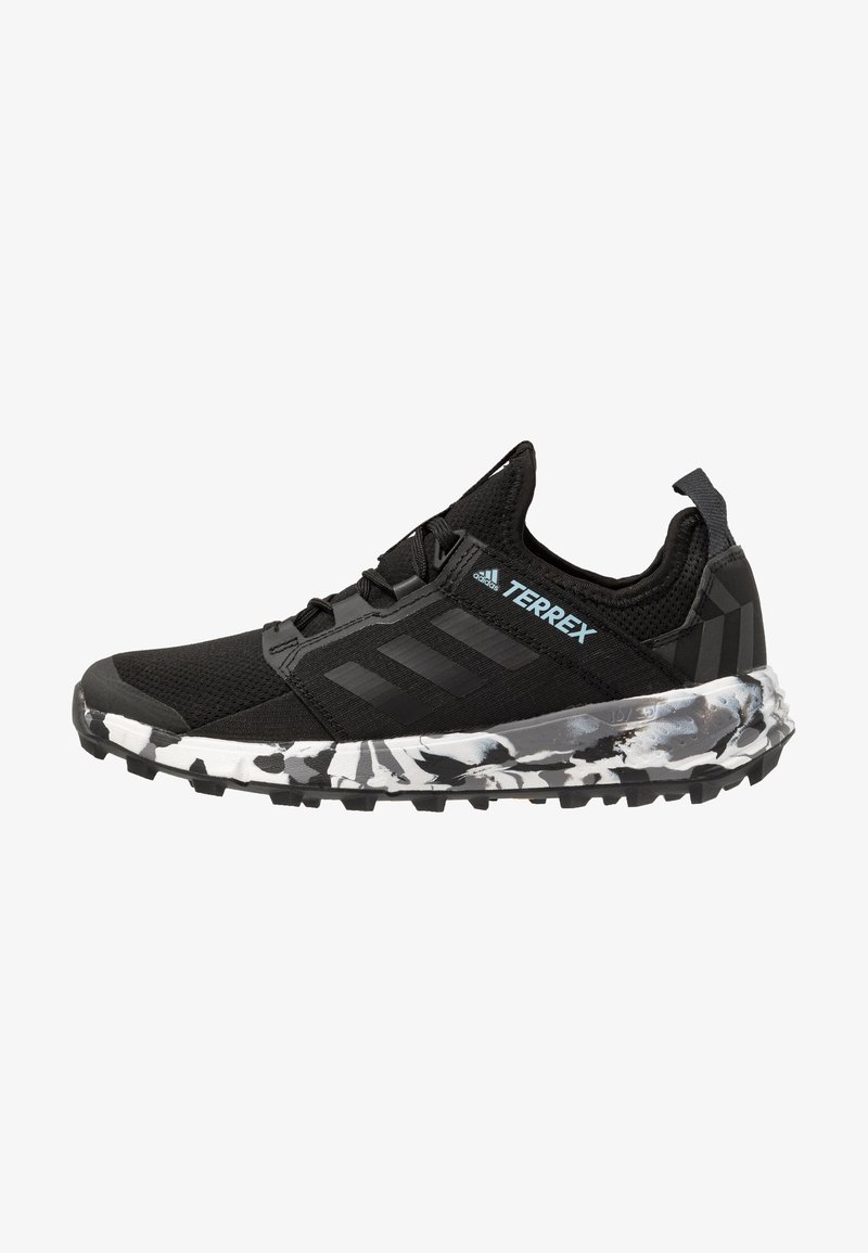adidas Performance - TERREX SPEED LD - Trail running shoes - core black/ash grey