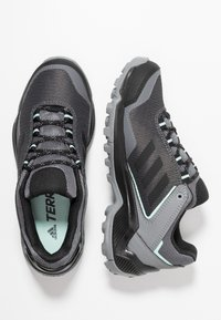 adidas Performance - TERREX EASTRAIL GORE-TEX - Hiking shoes - grey four/core black/clear mint - 1