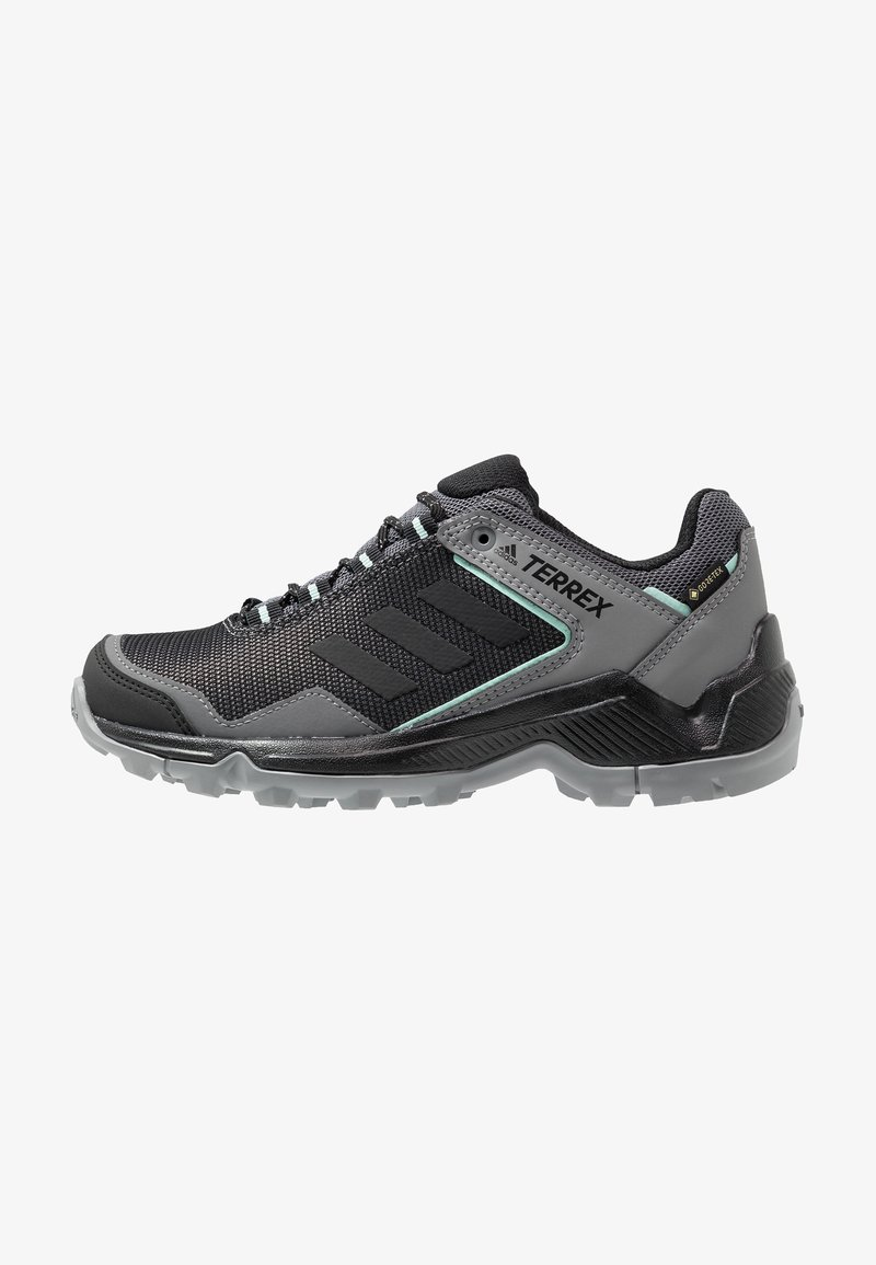 adidas Performance - TERREX EASTRAIL GORE TEX HIKING SHOES - Hikingschuh - grey four/core black/clear mint