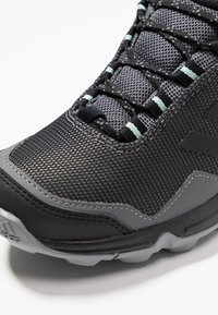 adidas Performance - TERREX EASTRAIL GORE-TEX - Hiking shoes - grey four/core black/clear mint - 5