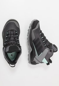 adidas Performance - TERREX EASTRAIL MID GORE-TEX - Hiking shoes - grey four/core black/clear mint - 1