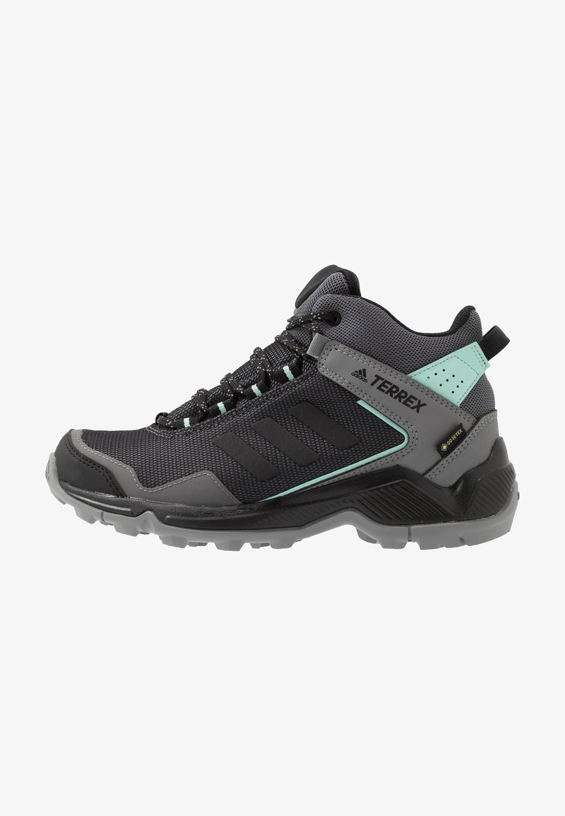 adidas Performance - TERREX EASTRAIL MID GORE-TEX - Hiking shoes - grey four/core black/clear mint