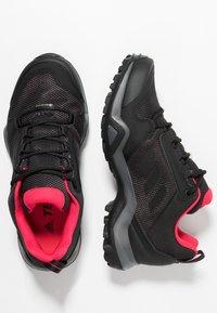adidas Performance - TERREX AX3 GORE-TEX - Scarpa da hiking - carbon/core black/active pink - 1
