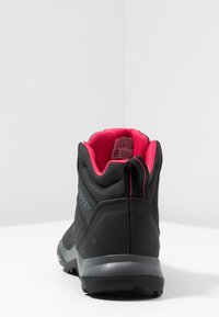 adidas Performance - TERREX AX3 MID GORE TEX - Hikingschuh - carbon/core black/active pink - 3
