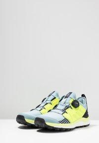 adidas Performance - TERREX AGRAVIC BOA TRAIL RUNNING SHOES - Zapatillas de trail running - ash grey/solar yellow/core black - 2