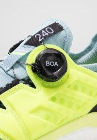adidas Performance - TERREX AGRAVIC BOA TRAIL RUNNING SHOES - Zapatillas de trail running - ash grey/solar yellow/core black - 5