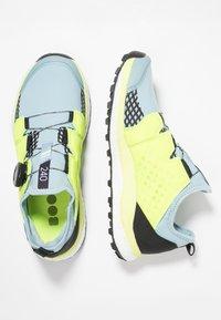adidas Performance - TERREX AGRAVIC BOA TRAIL RUNNING SHOES - Zapatillas de trail running - ash grey/solar yellow/core black - 1