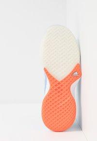adidas Performance - ADIZERO CLUB - Clay court tennis shoes - glow blue/tech ink/hi-res coral - 4