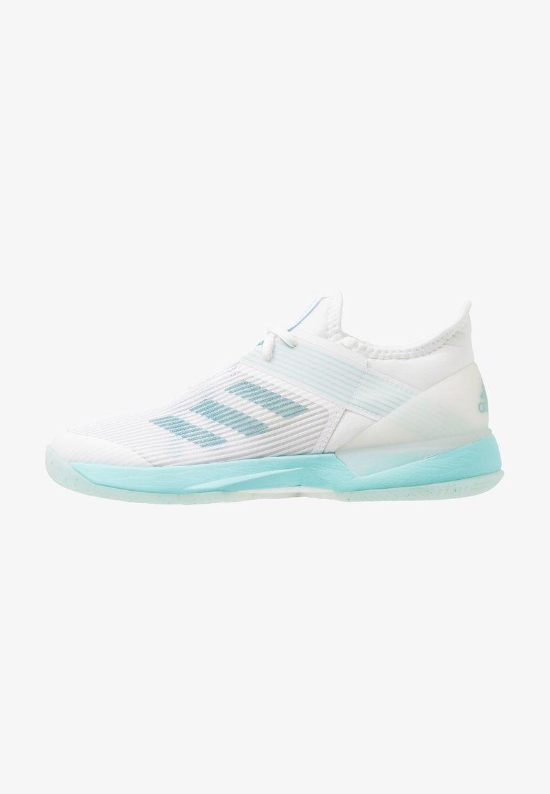 adidas Performance - ADIZERO UBERSONIC 3W X PARLEY - Scarpe da tennis per tutte le superfici - blue spirit/footwear white