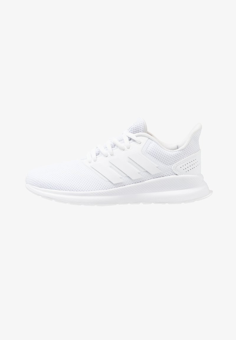 adidas Performance - RUNFALCON - Zapatillas de running neutras - footwear white/core black