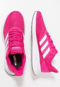adidas Performance - RUNFALCON - Juoksukenkä/neutraalit - real magenta/footwear white/grey three - 1