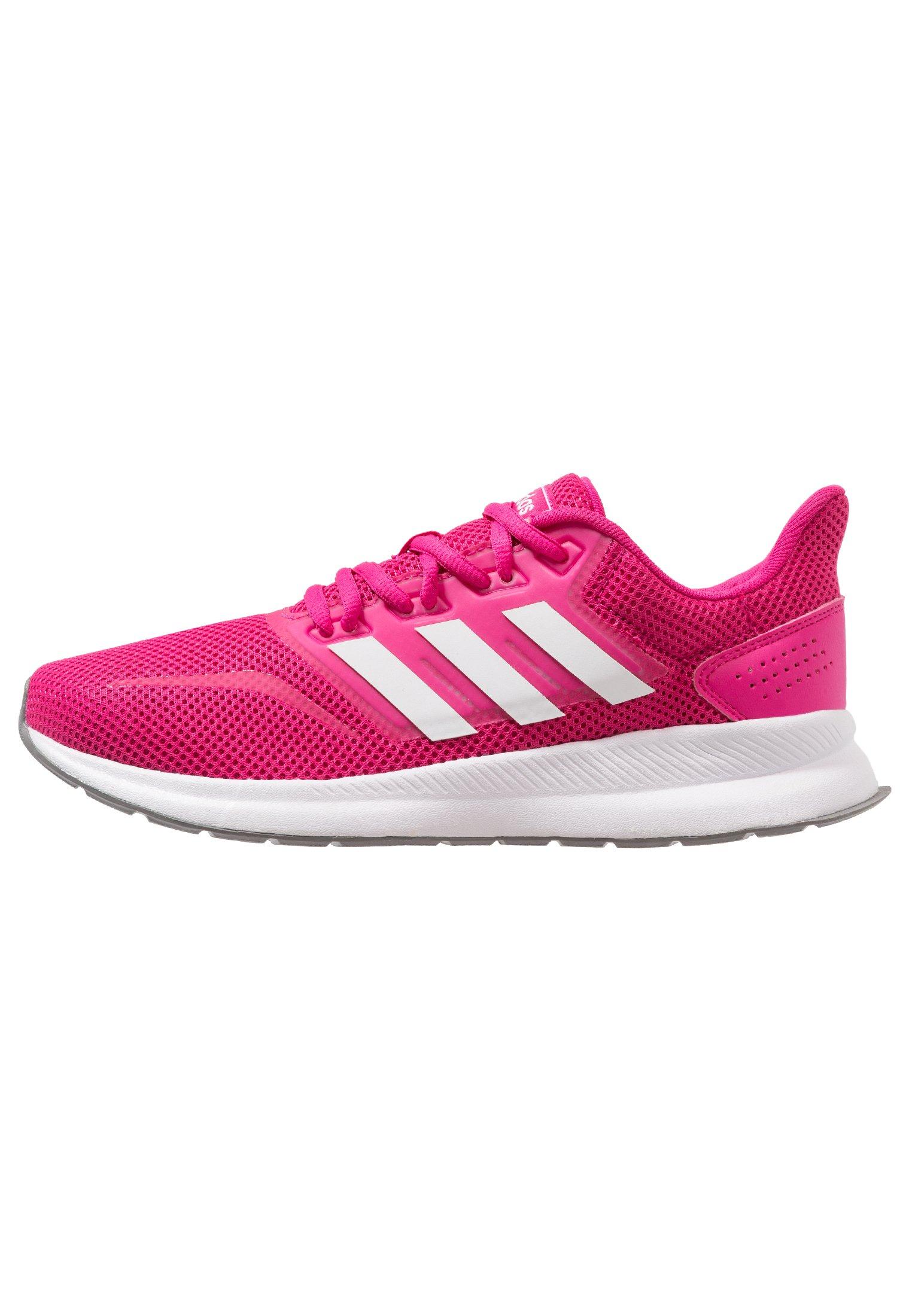 adidas Performance RUNFALCON - Obuwie do biegania treningowe - real magenta/footwear white/grey three