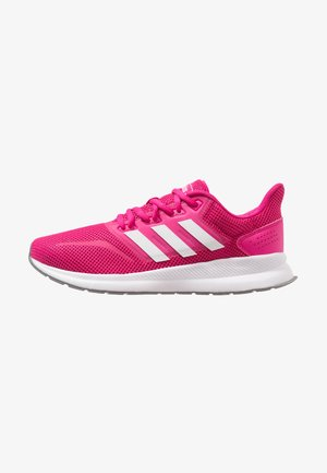 RUNFALCON - Obuwie do biegania treningowe - real magenta/footwear white/grey three