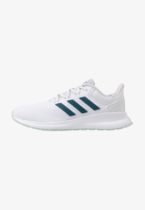 RUNFALCON - Laufschuh Neutral - footwear white/tech mint/dash grey