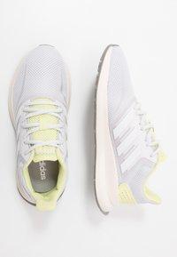 adidas Performance - RUNFALCON - Scarpe running neutre - dash grey/footwear white/yellow tint - 1