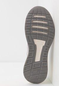 adidas Performance - RUNFALCON - Scarpe running neutre - dash grey/footwear white/yellow tint - 4