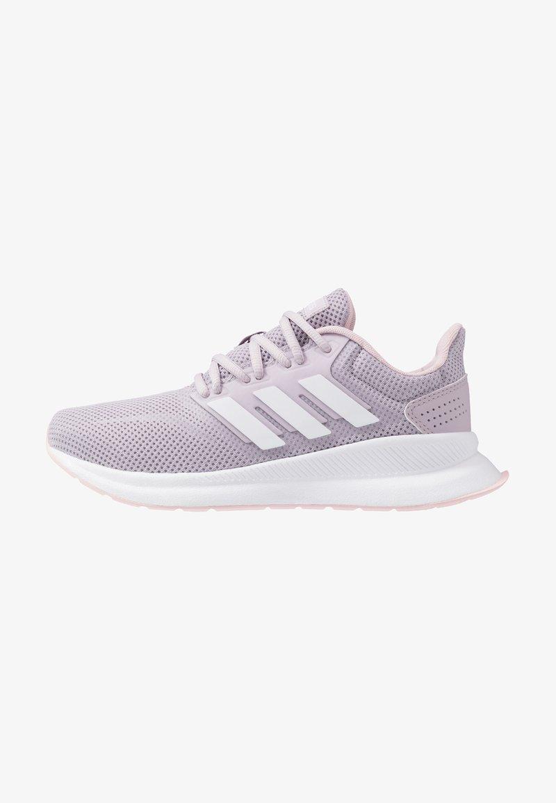 adidas Performance - RUNFALCON - Juoksukenkä/neutraalit - mauve/footwear white/clear pink