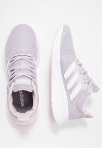 adidas Performance - RUNFALCON - Juoksukenkä/neutraalit - mauve/footwear white/clear pink - 1