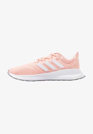 RUNFALCON - Neutral running shoes - glow pink/footwear white/grey three