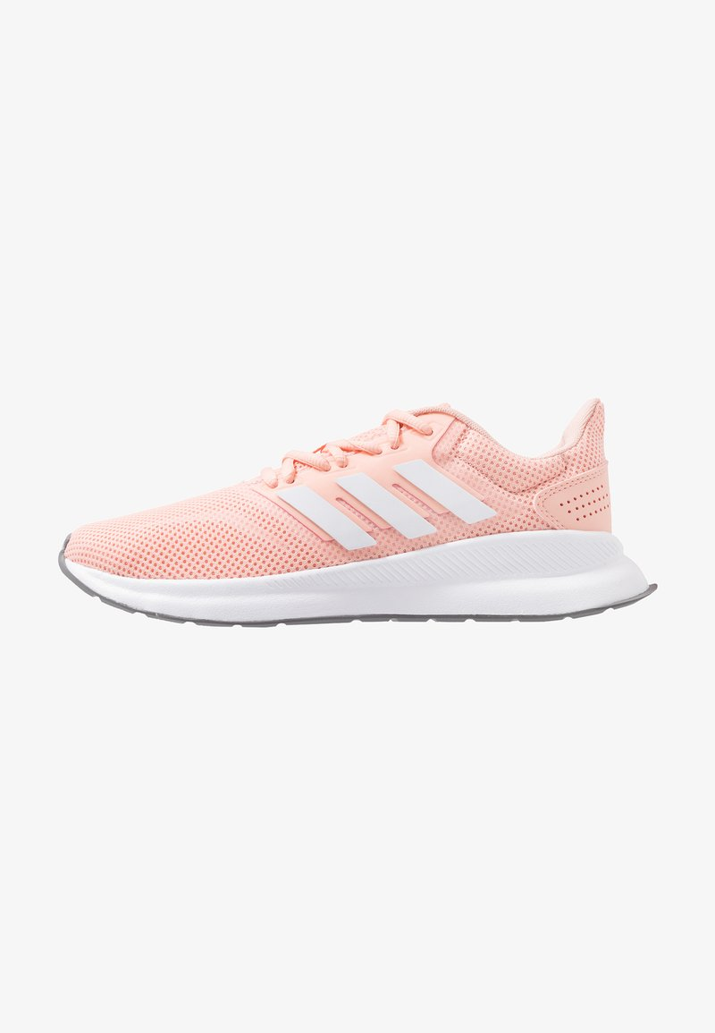 adidas Performance - RUNFALCON - Juoksukenkä/neutraalit - glow pink/footwear white/grey three