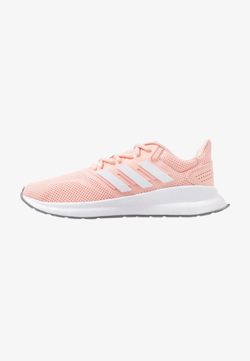adidas Performance - RUNFALCON - Neutral running shoes - glow pink/footwear white/grey three