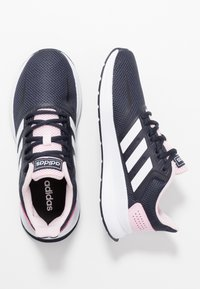 adidas Performance - RUNFALCON - Zapatillas de running neutras - legend ink/footwear white/clear pink - 1