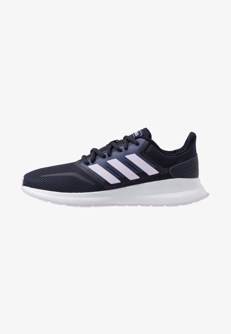 adidas Performance - RUNFALCON - Obuwie do biegania treningowe - legend ink/purple tint/footwear white