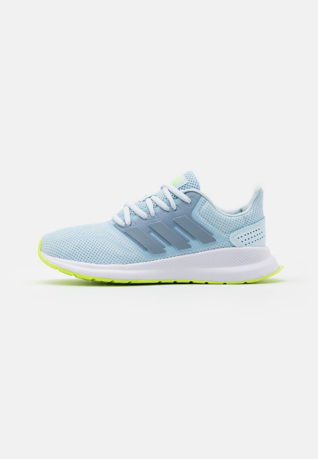 RUNFALCON - Neutral running shoes - sky tint/tactile blue/signal green