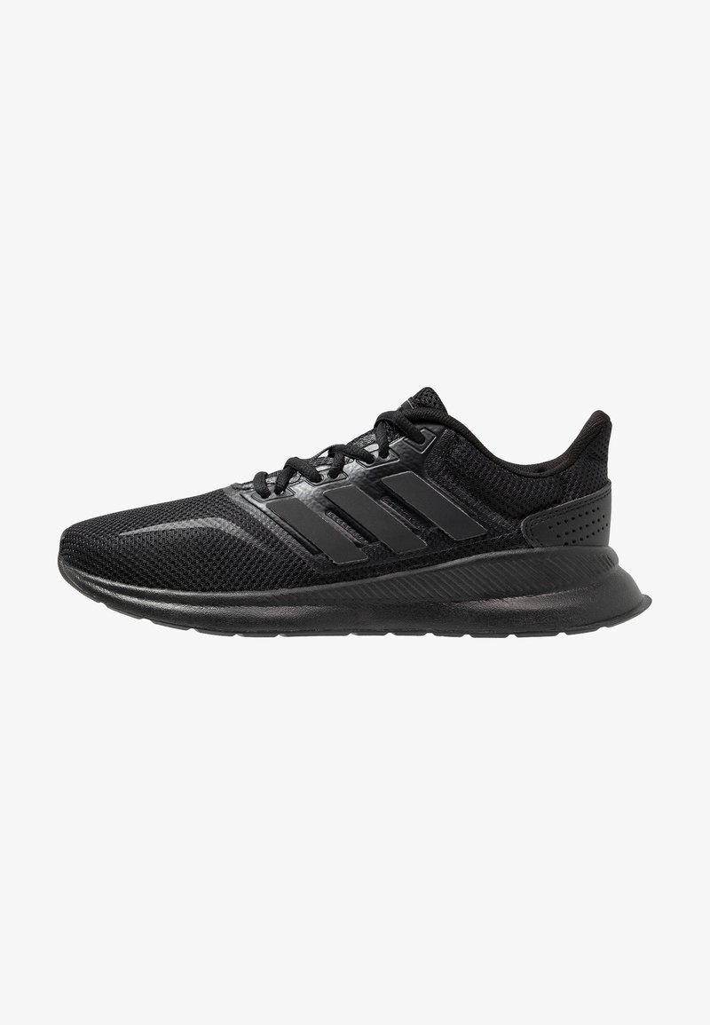 adidas Performance - RUNFALCON - Obuwie do biegania treningowe - core black