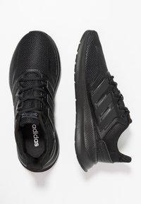 adidas Performance - RUNFALCON - Laufschuh Neutral - core black - 1