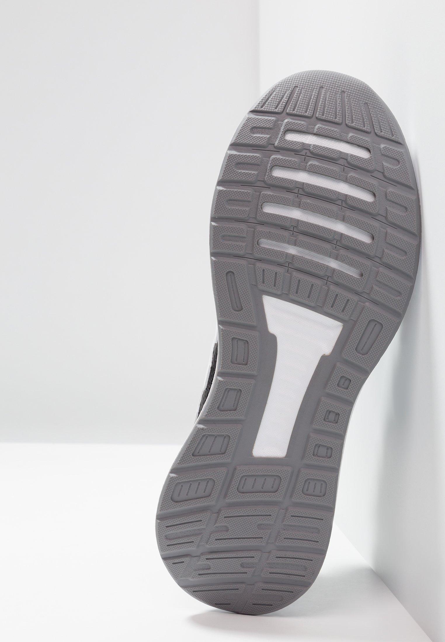 adidas Performance RUNFALCON - Laufschuh Neutral core black/footwear white/grey three