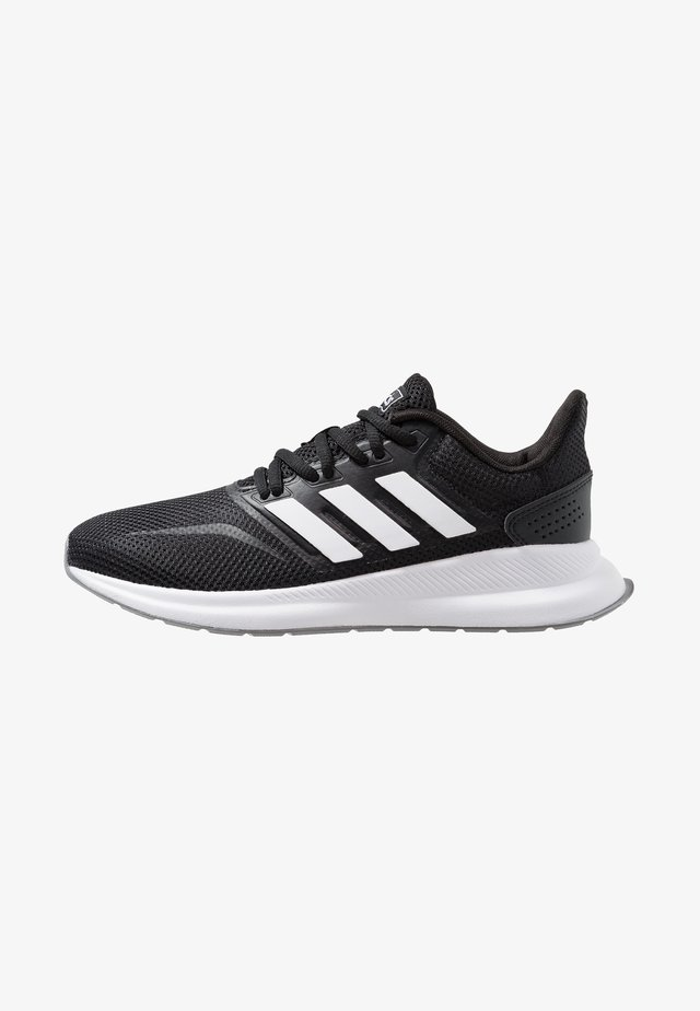 RUNFALCON - Neutral running shoes - core black/footwear white/grey three