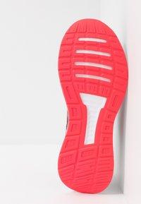 adidas Performance - RUNFALCON - Juoksukenkä/neutraalit - core black/shock red/footwear white - 4