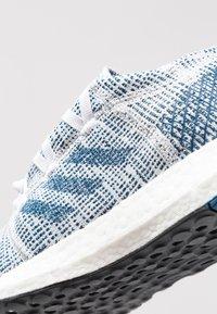 adidas Performance - PUREBOOST GO - Neutrální běžecké boty - footwear white/legend marine - 5