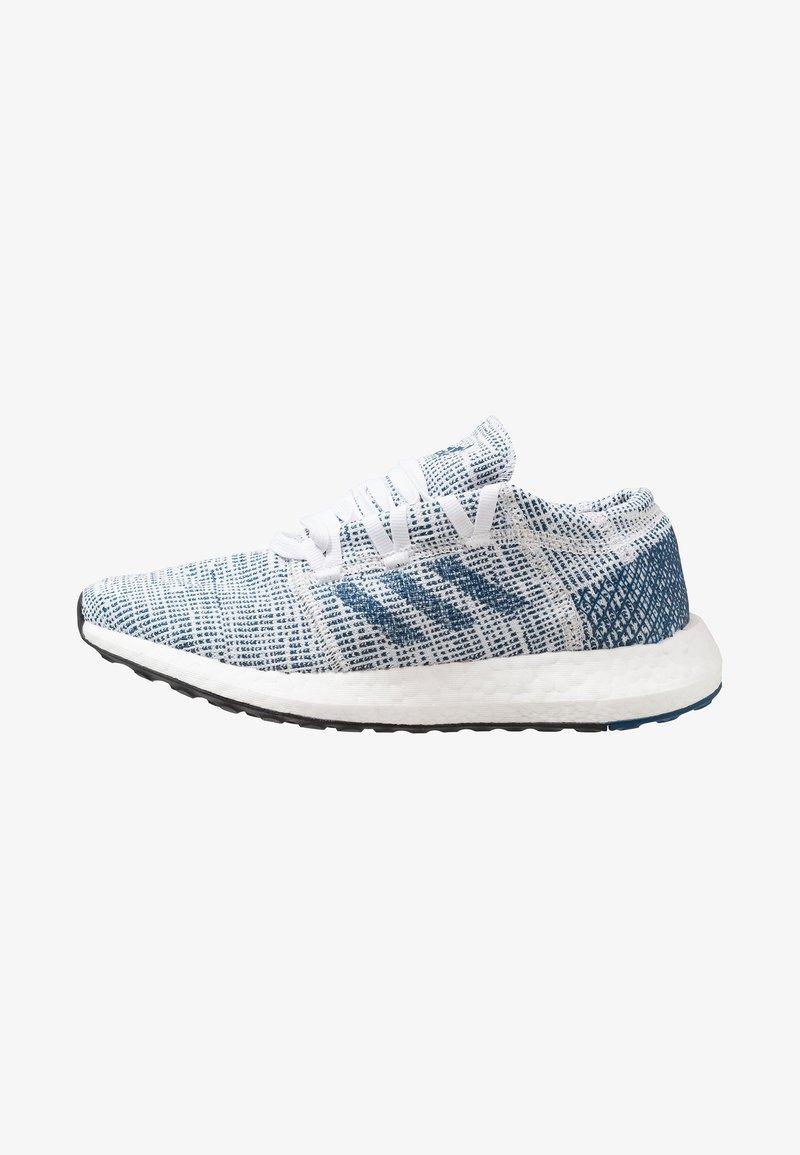adidas Performance - PUREBOOST GO - Neutral running shoes - footwear white/legend marine