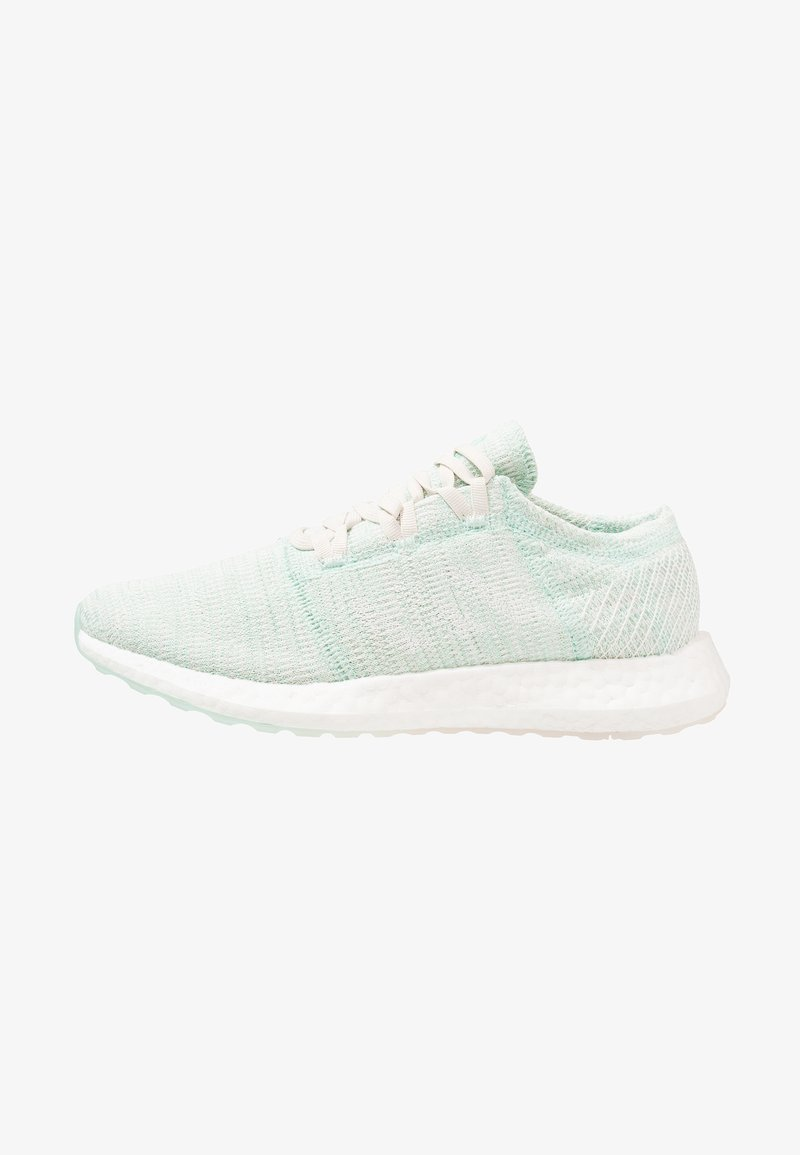 adidas Performance - PUREBOOST GO - Zapatillas de running neutras - clear mint/footwear white/raw white