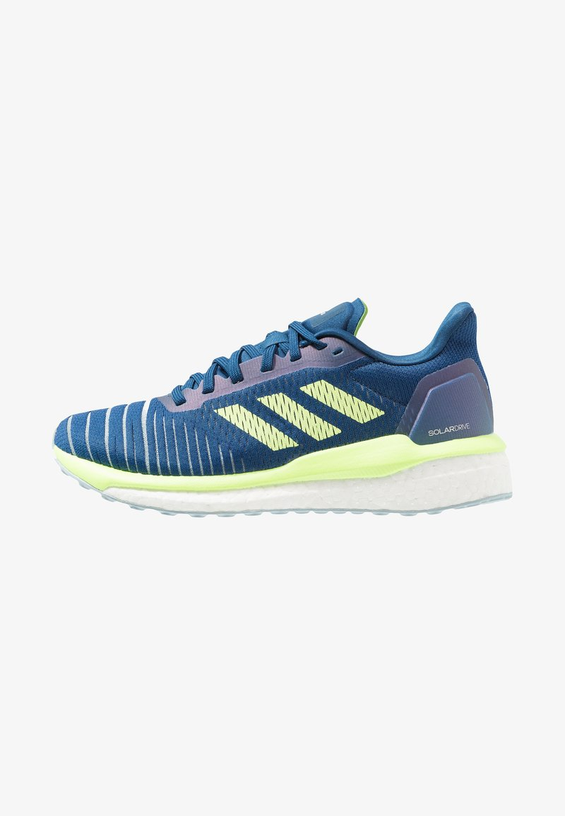 adidas Performance - SOLAR DRIVE - Neutral running shoes - legend marine/hi-res yellow/ash grey