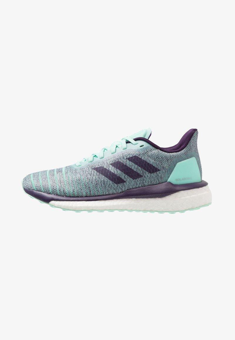 adidas Performance - SOLAR DRIVE - Laufschuh Neutral - clear mint/legend purple/active purple