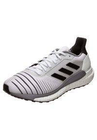 adidas Performance - SOLAR GLIDE W - Chaussures de running neutres - footwear white/core black/grey heather - 3