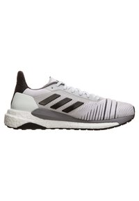 adidas Performance - SOLAR GLIDE W - Chaussures de running neutres - footwear white/core black/grey heather - 6