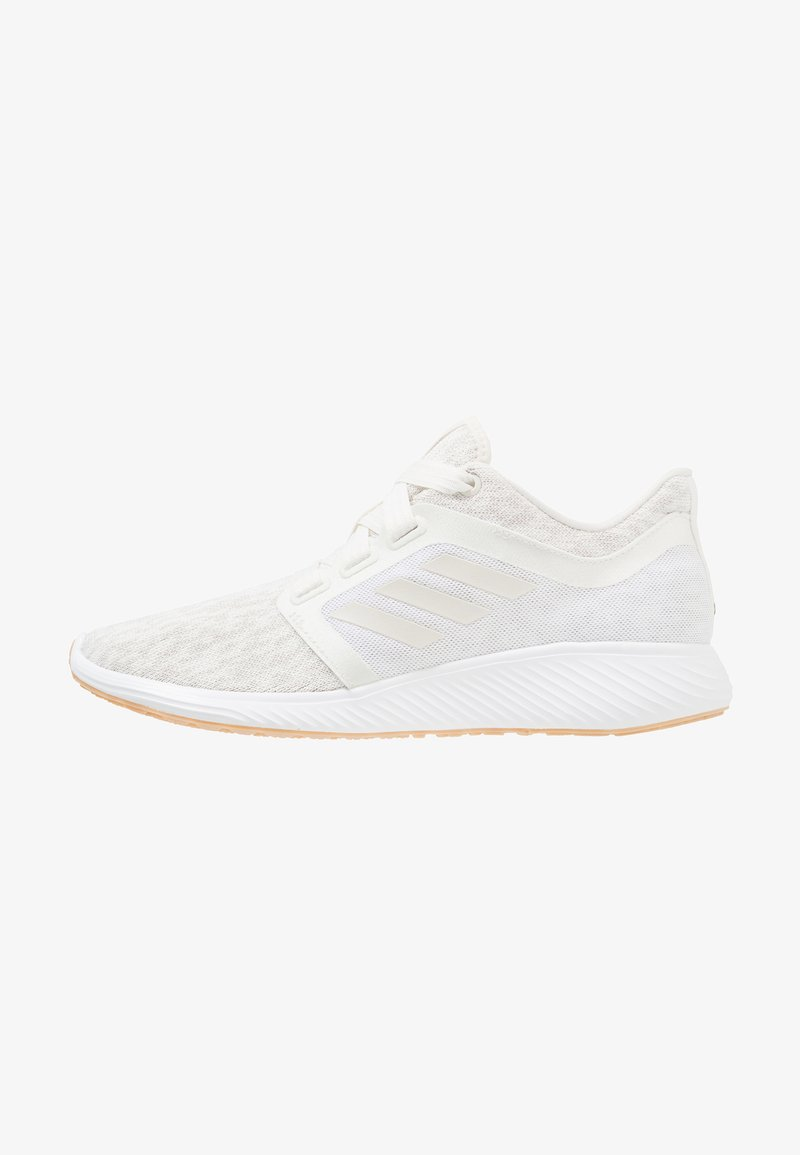 adidas Performance - EDGE LUX 3 - Laufschuh Neutral - raw white/cloud white/gold metallic