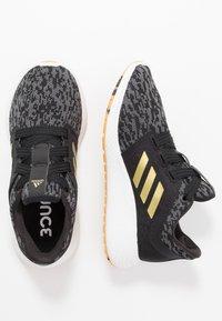 adidas Performance - EDGE LUX 3 - Neutral running shoes - core black/gold metallic/footwear white - 1