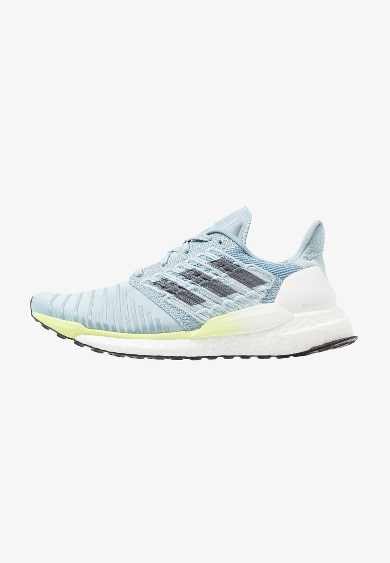 adidas Performance - SOLAR BOOST - Laufschuh Neutral - ash grey/onix/hi-res yellow