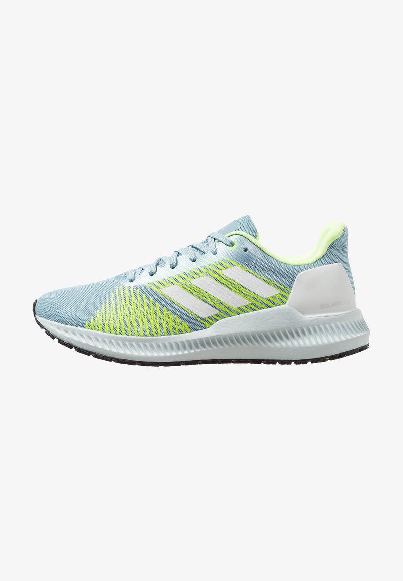 adidas Performance - SOLAR BLAZE - Chaussures de running neutres - ash grey/footwear white/hi-res yellow