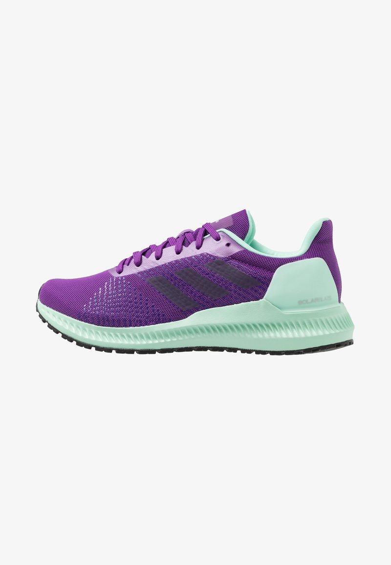 adidas Performance - SOLAR BLAZE - Laufschuh Neutral - active purple/legend pure/clear mint