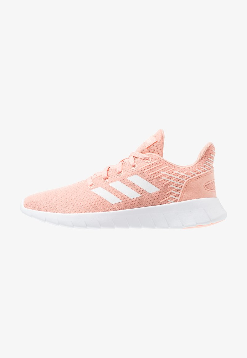 adidas Performance - CALIBRATE - Laufschuh Neutral - dust pink/footwear white/cloud white